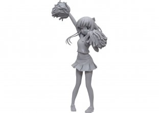 Is the Order a Rabbit? Season 3 PVC Socha Chiya Cheerleader Ver