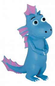 Coconut, the Little Dragon Figure Wart 6 cm