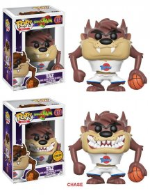 Space Jam POP! Movies Figures Taz 9 cm prodej v sadě (6)