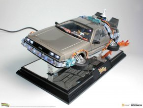 Back to the Future II Floating Model with Light Up Function DeLo