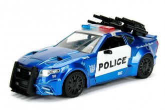 Transformers The Last Knight Diecast Model 1/24 Barricade Police