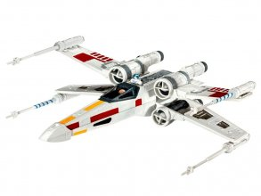 Star Wars Episode VII Model Kit 1/112 X-Wing Fighter 10 cm