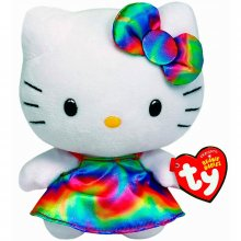 Hello Kitty plyšová hračka Babies Kitty Rainbow 15 cm