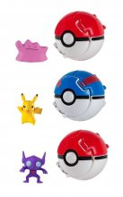 Pokemon Throw 'n' Pop Poké Ball Assortment D4AL (4)