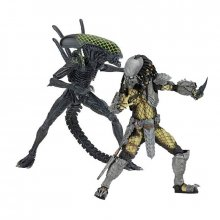Alien vs. Predator figurky Battle Damaged Celtic vs Damaged Grid