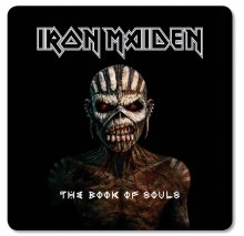 Iron Maiden podtácky Pack The Book of Souls (6)