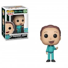 Rick and Morty POP! Animation Vinylová Figurka Tracksuit Jerry S