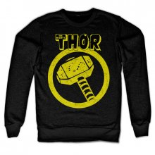 Mikina Marvel Thor Distressed Hammer