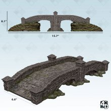 WizKids 4D Settings: Stone Bridge