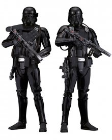 Star Wars Rogue One ARTFX+ Socha 2-Pack Death Trooper 20 cm