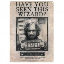 Harry Potter Tin Sign Sirius Black 41 x 32 cm