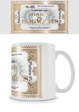 Harry Potter Foil Mug Hogwarts Express Ticket
