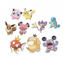 Pokémon Battle mini figurky Packs 5-7 cm Wave 3 prodej v sadě (6