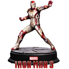 Iron Man 3 plastový model kit Iron Man Mark XLII 1:9 20 cm