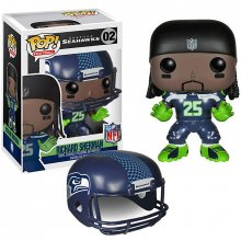 NFL POP! Football figurka Richard Sherman (Seattle Seahawks) 9 c