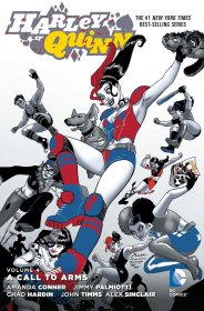 DC Comics Comic Book Harley Quinn Vol. 4 A Call to Arms by Amand