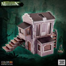Malifaux ColorED Miniature Gaming Model Kit 32 mm Downtown Build