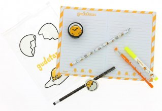 Gudetama 7-Piece Stationery Set