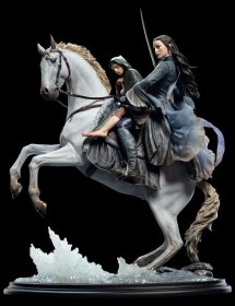 Lord of the Rings Socha 1/6 Arwen & Frodo on Asfaloth 40 cm