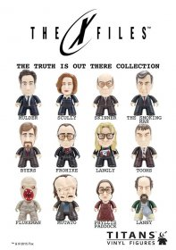 X-Files Trading Figure The Truth Is Out There Collection Titans