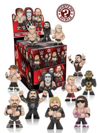 WWE Mystery Minis Vinyl mini figurky 6 cm Series 2 Display (12)