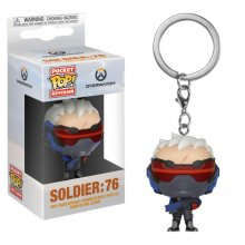 Overwatch Pocket POP! Vinyl Keychain Soldier: 76 4 cm