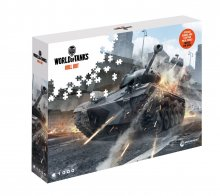 World of Tanks skládací puzzle Watch Your Back (1000 pieces)