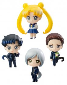 Sailor Moon Petit Chara Trading Figure 4-Pack Three Lights (Star