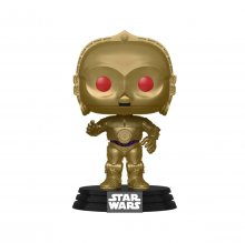 Star Wars Episode IX POP! Movies Vinylová Figurka C-3PO (Red Eye