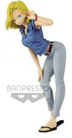 Dragonball Glitter & Glamours PVC Socha Android 18 II Ver. A 23