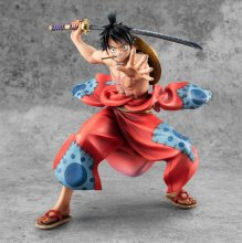 One Piece P.O.P PVC Socha Warriors Alliance Luffy Taro 17 cm