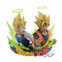 Dragonball Z Figuration Vol. 2 Bust SSJ Goku & Vegeta 7 cm