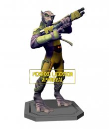 Star Wars sběratelská socha Star Wars Rebels Maquette Zeb