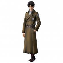 Attack on Titan PVC Socha Levi Coat Style 22 cm