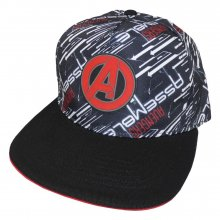 Marvel Comics Avengers Curved Bill Cap A Logo