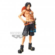 One Piece Grandista Resolution of Soldiers PVC Socha Portgas D.