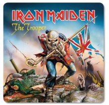 Iron Maiden podtácky Pack The Trooper (6)
