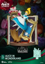 Disney Story Book Series D-Stage PVC Diorama Alice in Wonderland