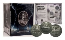 Universal Monsters Commemorative Collection sběratelská mince 3-