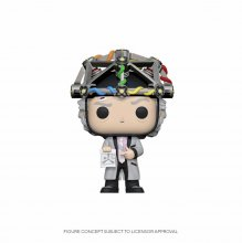 Back to the Future POP! Vinylová Figurka Doc w/Helmet 9 cm