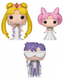 Sailor Moon POP! Animation Vinyl Figures 3 Pack Serenity, Small