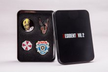 Resident Evil 2 Collectors Pins 4-Pack