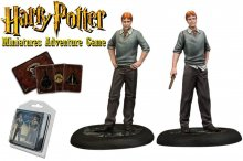 Harry Potter Miniatures 35 mm 2-pack Fred & George Weasley *Engl