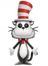 Dr. Seuss POP! Books Vinylová Figurka Cat in the Hat (Flocked) 9