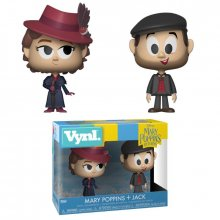 Mary Poppins 2018 VYNL Vinylové Figurky 2-Pack Mary & Jack the