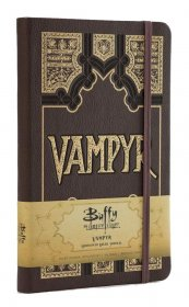 Buffy Hardcover Ruled Journal Vampyr