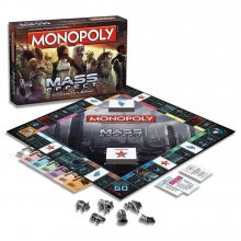 Mass Effect desková hra Monopoly *English Version*