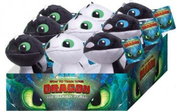 How to Train Your Dragon 3 Plush Figures 18 cm prodej v sadě (9)