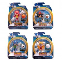 Sonic the Hedgehog Bendable Figures 15 cm prodej v sadě (24)