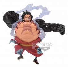 One Piece King Of Artist PVC Socha Monkey D. Luffy Gear 4 Wanok